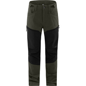 Haglöfs Rugged Mountain Housut Nuoret, deep woods/true black